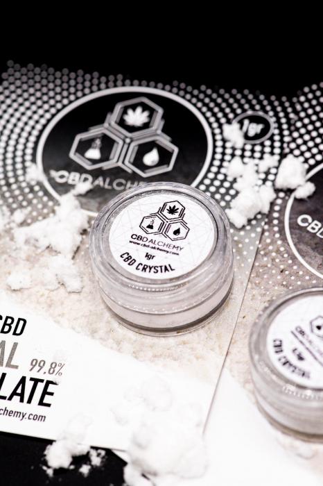 Cristale CBD 99.8%, 1000mg, 1gr, CBD-Alchemy [0]