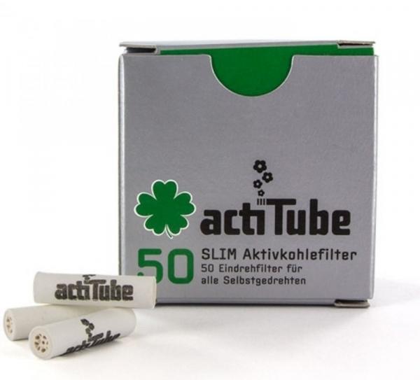 Filtre actiTube Slim Carbon Activ 7mm x 50buc [0]