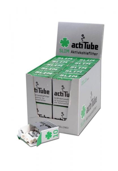 Filtre actiTube Slim Carbon Activ 7mm x 10buc 0