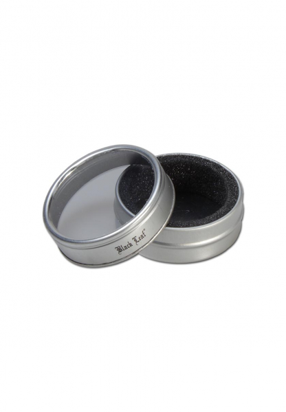 Grinder 'Black Leaf', Al SkyBlue, 2 Parti, Ø40mm 2