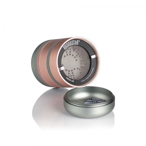 Grinder Kannastor GR8TR® V2, cu Camera Screen, Rose-Gold 1