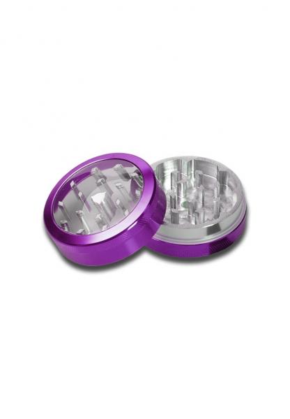 Grinder Neutral Window, Violet, 2 parti, Ø50mm 1
