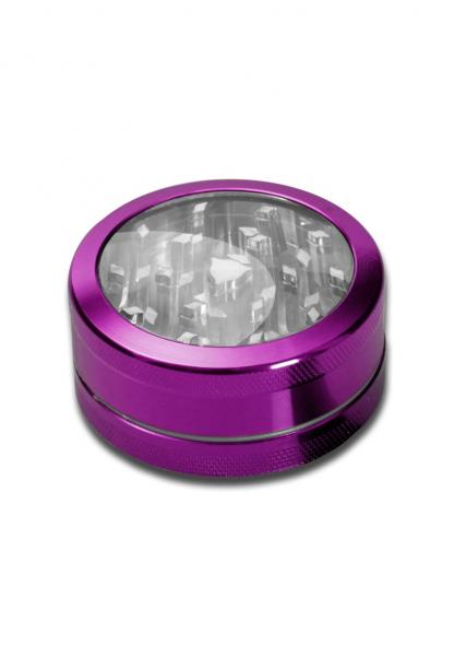 Grinder Neutral Window, Violet, 2 parti, Ø50mm 0