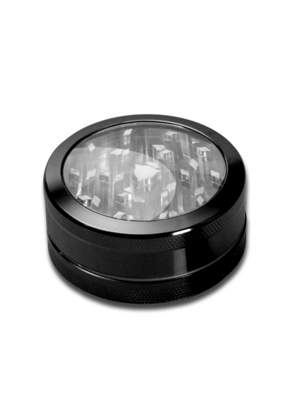 Grinder Neutral Window, Negru, 2 parti, Ø50mm 0