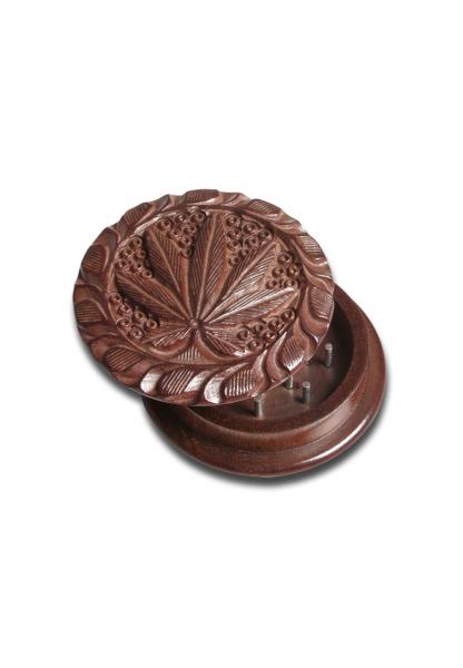 Grinder RoseWood 'Leaf', Full, 2 Parti, Ø45 mm 0