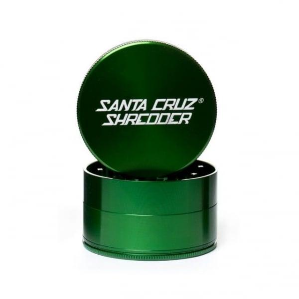 Grinder 'Santa Cruz' Verde, Large, 4 Parti, Ø60mm [0]
