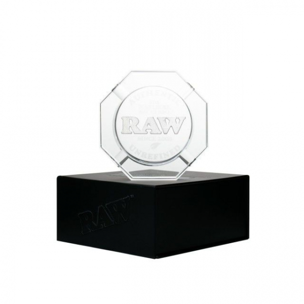 Scrumiera 'RAW' Heavy Duty Crystal Glass 0