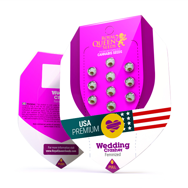 Seminte Canabis Wedding Crasher USA Feminized, 5 seminte [0]