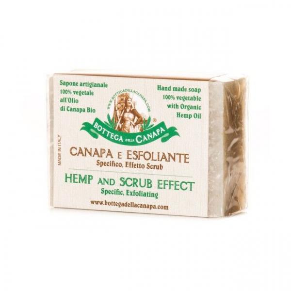 Sapun organic din canepa, efect scrubbing 0
