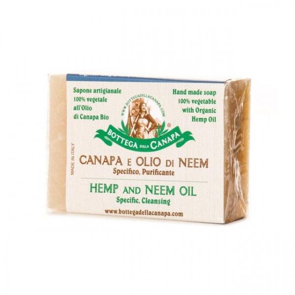 Sapun organic din canepa cu ulei de neem [0]