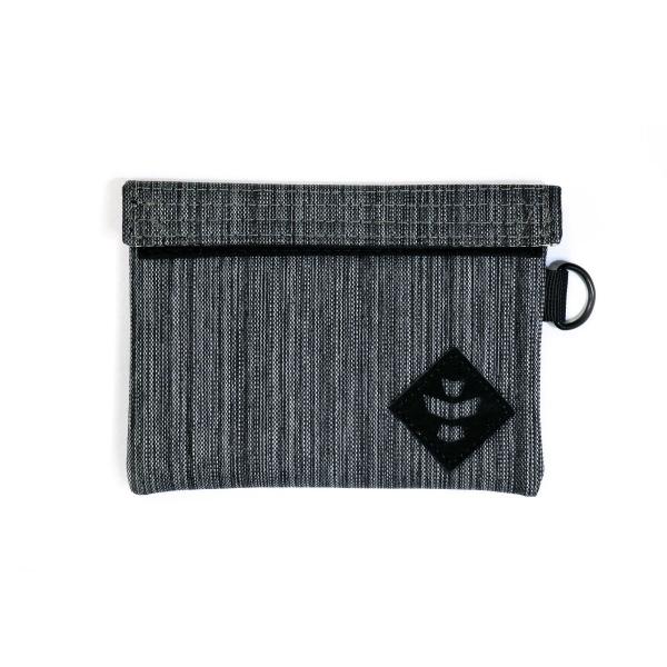 Stash Bag Anti-Miros 'The Mini Confidant', Gri Inchis 0