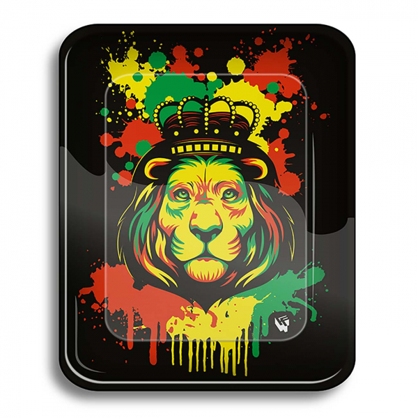 Tava de rulat 'Clipper', Rasta Stencil Lion 0