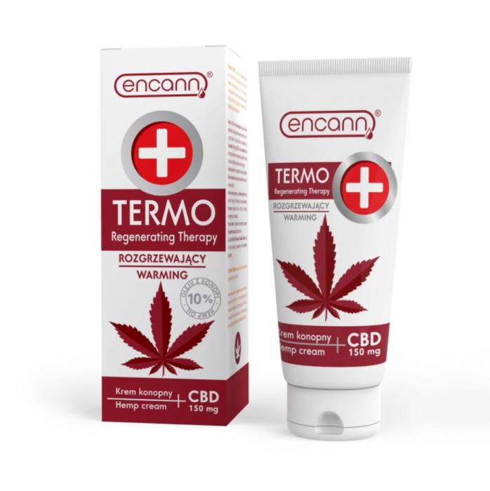 Crema CBD 150mg, Encann, TERMO, Warming, 150ml 0