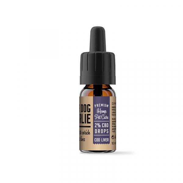 Ulei CBD 2% pentru Animale, Aroma Ficat, PharmaHemp, Full Spectrum, 10ml 1