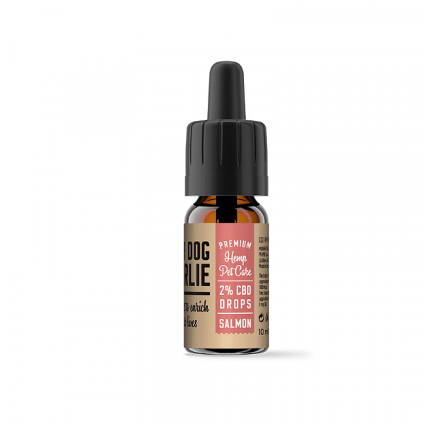 Ulei CBD 2% pentru Animale, Aroma Somon, PharmaHemp, Full Spectrum, 10ml 1