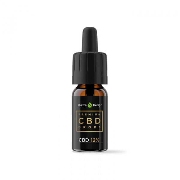 Ulei CBD 12% Premium PharmaHemp, Full Spectrum, 10ml 1
