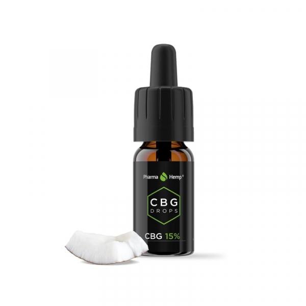 Ulei CBG 15% PharmaHemp, Full Spectrum, 10ml 0