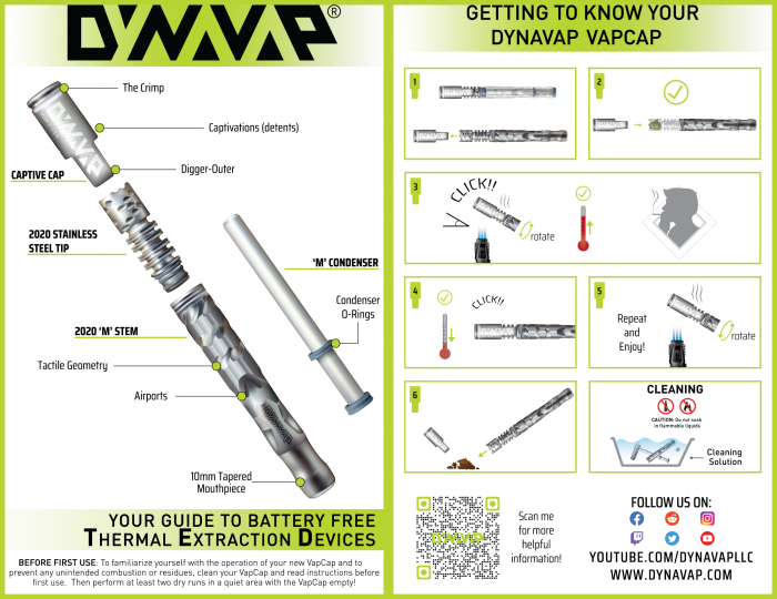 Vaporizator  DynaVap VapCap M 2020, AzuriuM [3]