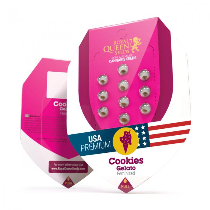 Cookies Gelato USA Feminized, 5 seminte 0