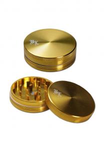 Grinder 'Black Leaf' Golden, 2 Parti, Ø55mm0