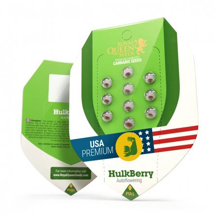 Auto HulkBerry USA Feminized, 5 seminte