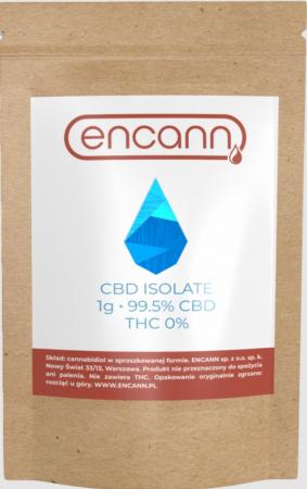 Cristale CBD 99%, ENCANN, 1000mg1