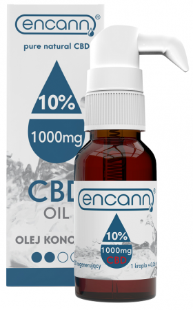Ulei de Canabis CBD 10%, 1000mg, 10ml