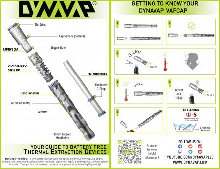 Vaporizator  DynaVap VapCap M 2020, RosiuM [7]
