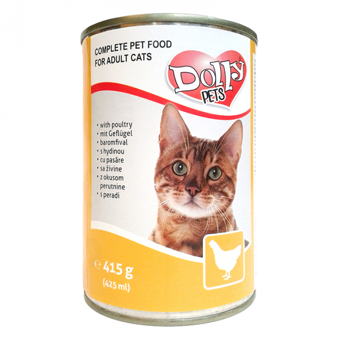 Dolly Cat Conserva cu Pasare 415g [0]