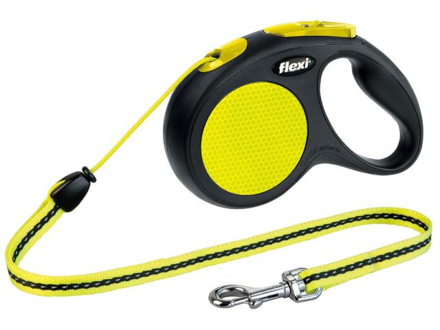 Trixie Lesa Flexi New Classic Neon cu Snur M 5 m Neon 20 kg 20912 [0]