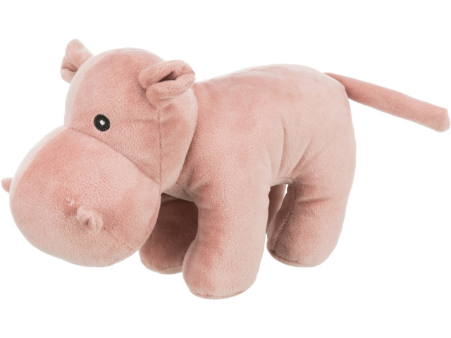 Trixie Jucarie Hipopotam plush cu sunet 25cm 35922 [0]