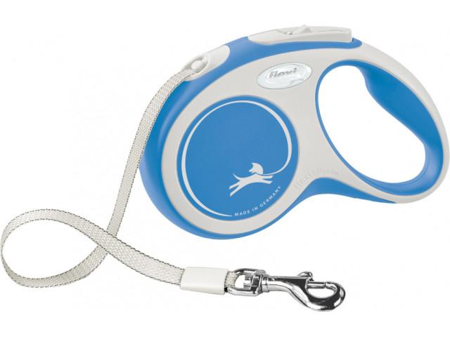 Trixie Lesa Flexi Comfort Banda S: 5m/15kg, Albastru 213402 [0]