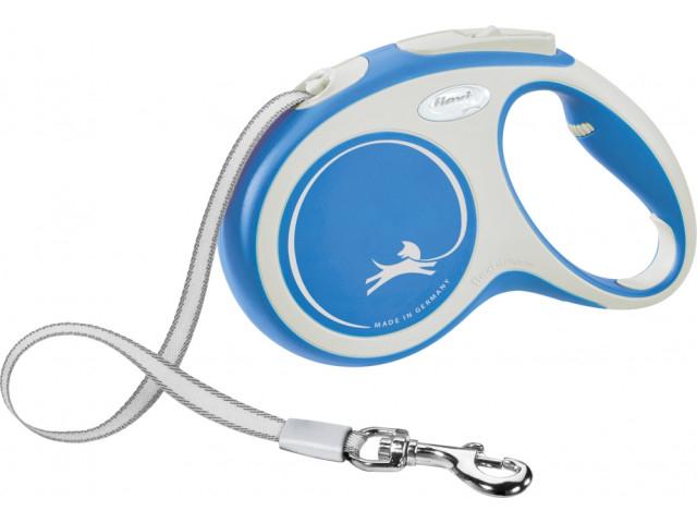 Trixie Lesa Flexi Banda New COMFORT M: 5 m albastru 213502 [0]