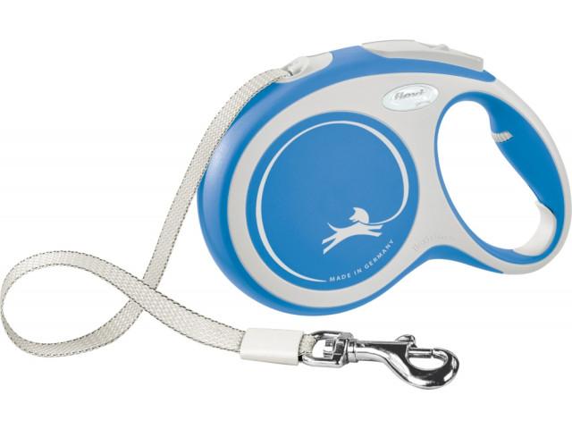 Trixie Lesa Flexi Banda New COMFORT L: 8 m albastru 213702 [0]