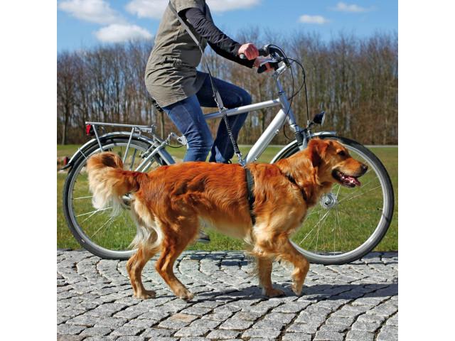 Trixie Lesa pentru Bicicleta si Jogging 1-2 m/25 mm Negru 1282 [1]