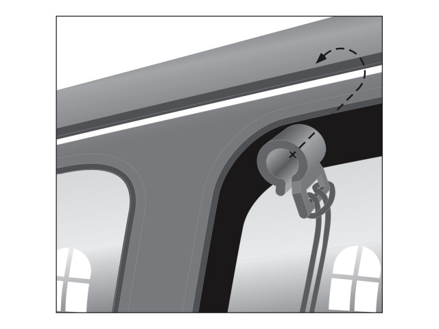Trixie Separator Plasa Auto 1.2 x 1 m 1312 [3]