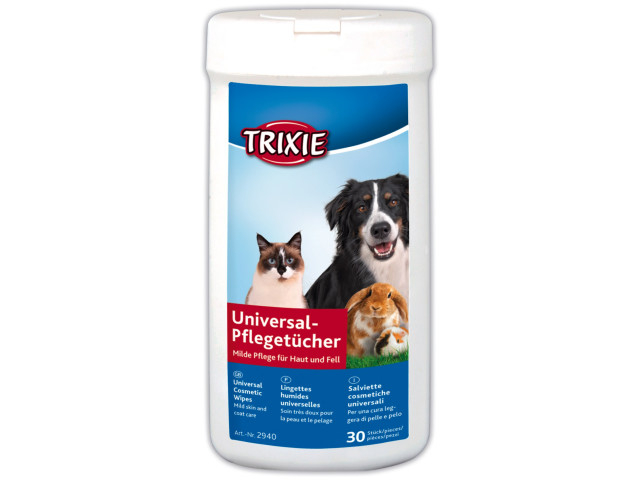 Trixie Servetele Umede Antiinflamatoare cu Aloe 30 buc 2940 [0]