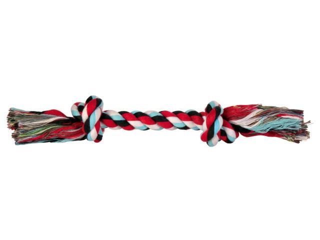 Trixie Jucarie Sfoara cu 2 Nod Mijloc.20 cm/50 g 3271 [0]