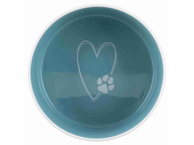 Trixie Castron ceramic Pet's Home 1.4 l/ 20 cm crem/verde 25052 [1]