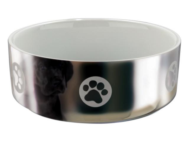 Trixie Castron Ceramic 0.8 l/15 Gri cu Alb 25084 [0]