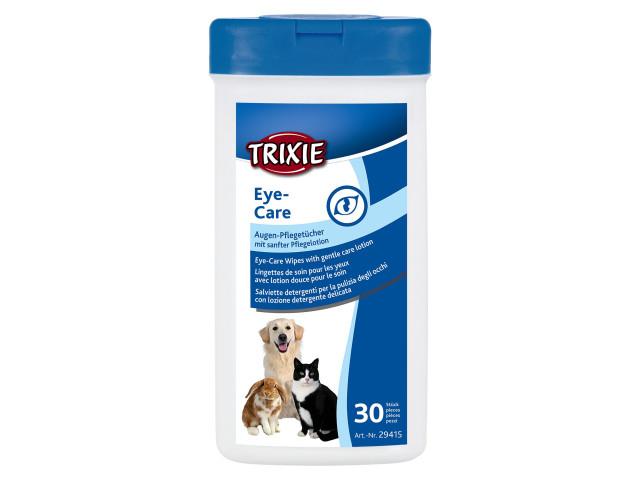 Trixie Servetele Umede pentru Ochi 30 buc cu Musetel si Aloe Vera 29415 [0]