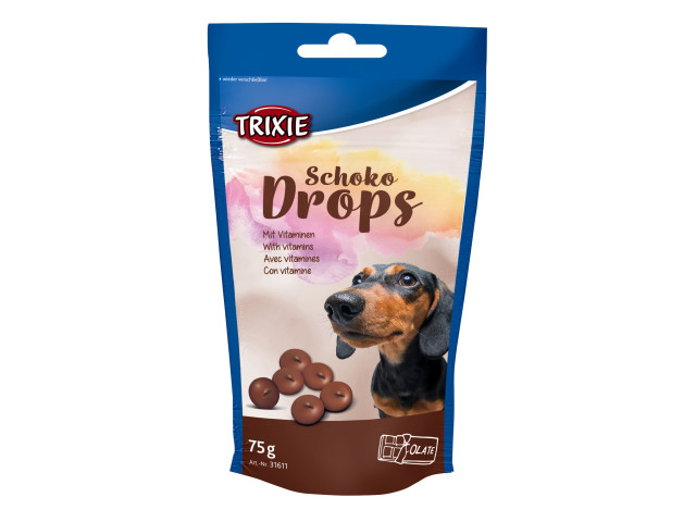 Trixie Drops Caini Ciocolata 75 g 31611 [0]