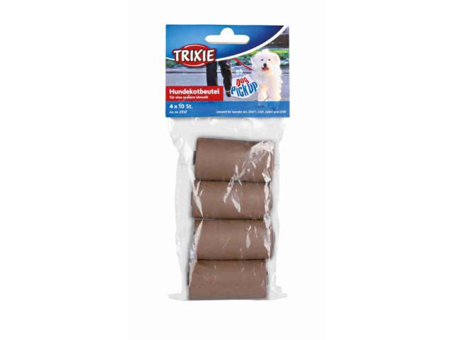 Trixie Pungi Igienice Biodegradabile 4Role A 10 buc Maro 23470 [1]