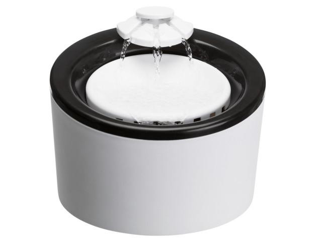 Trixie Adapator Automat de Apa Plastic 2 L Negru/Alb 24452 [0]