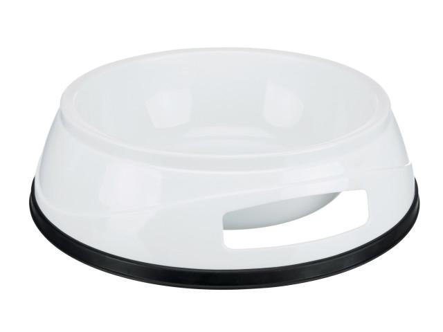 Trixie Castron Plastic cu Greutate Antiderapant 0.3 l/12 cm 24950 [0]