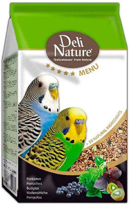 Hrana Completa Pentru Perusi Deli Nature Menu 800g [0]