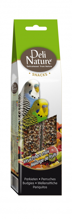 Batoane Pentru Perusi cu Mix de Fructe Deli Nature 60g [0]