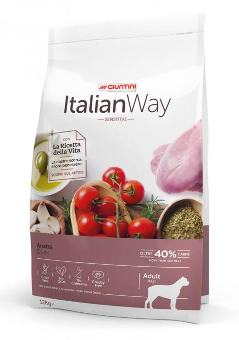 Italian Way Caini Rata SENSITIVE Adult Maxi 12kg [0]