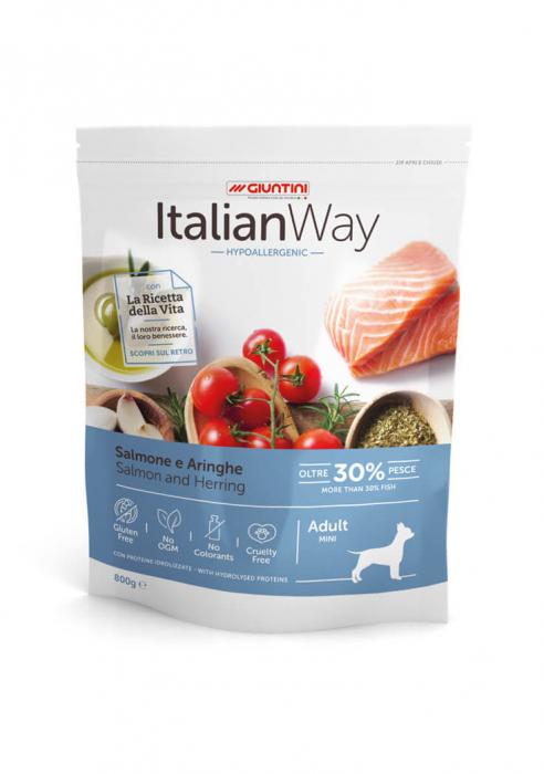 Italian Way Caini Somon si Hering Hipoalergenic Adult Mini 8kg [0]