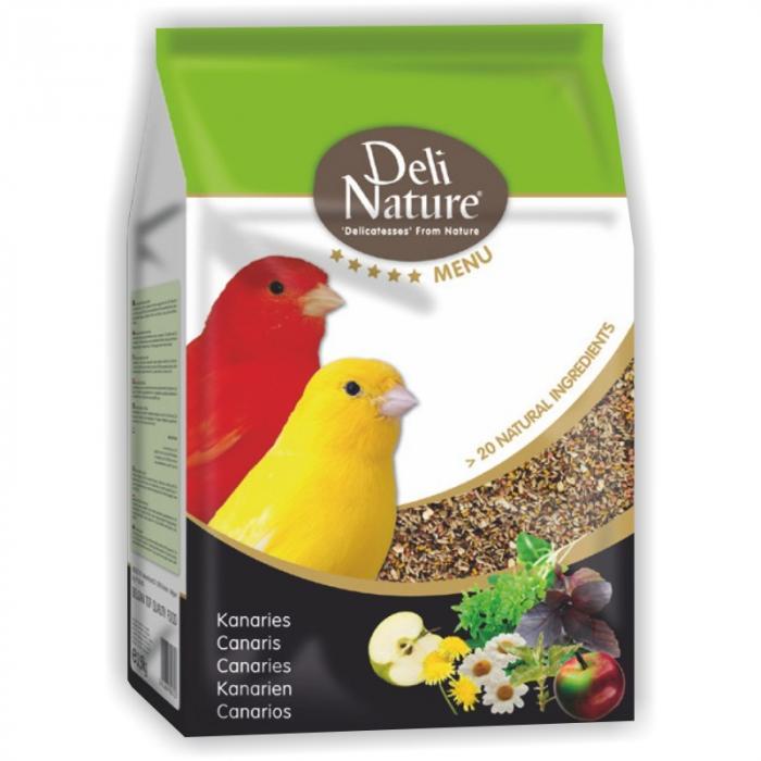 Hrana Completa Pentru Canari Deli Nature Menu 800g [0]